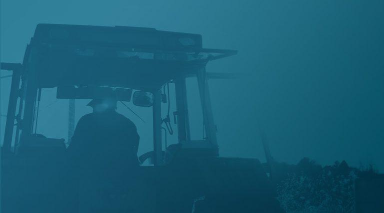 Aussenansicht Traktor