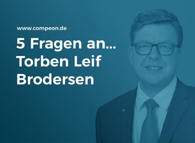 5 Fragen an Torben Leif Brodersen