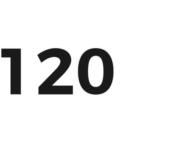 120 Zahl des Tages