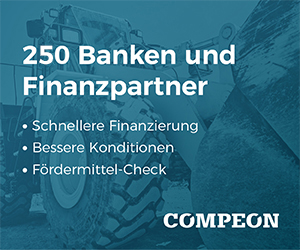 Mit COMPEON Zugang zu 220 Finanzpartnern und 1.700 Fördermitteln: Jetzt kostenloses Angebot einholen (hier klicken)!